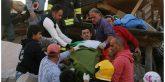 Este sería presuntamente el joven peruano rescatado hoy luego del fuerte terremoto que azoto Italia