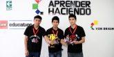 Él equipo de robótica listo para  representarnos en la Olimpiada de Robótica en la India