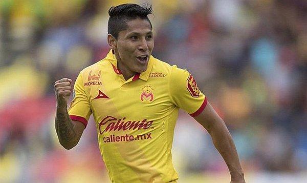 Raúl Ruidíaz está que la ''rompe´´ en el Morelia y es hoy por hoy uno de dos mejores fichajes extranjeros en el fútbol mexicano