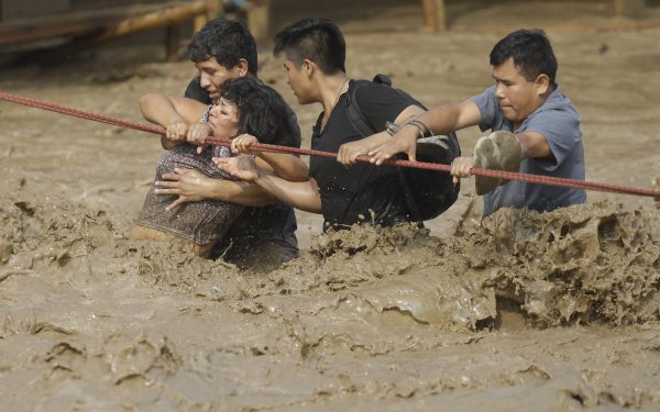 Hasta el momento las lluvias en el Perú han dejado 75 muertos y unos 100 mil damnificados