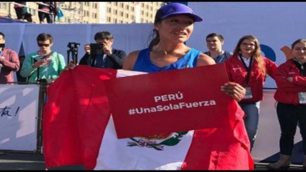 Inés Melchor ganó en Chile y demostró su apoyo a los damnificados por las lluvias