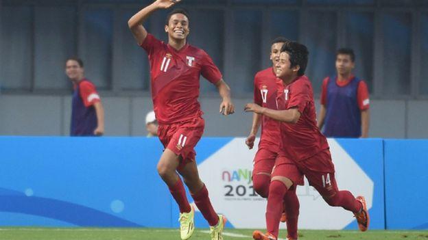 La sub15 de Perú viene haciendo buena campaña en Nanjing 2014