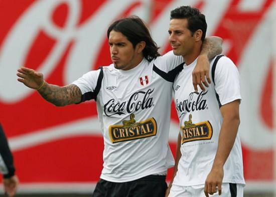 Bengoechea parece seguir apostando por  Pizarro y Vargas en el proceso preparatorio de Perú.
