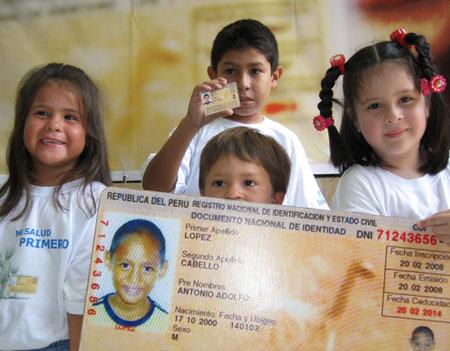 Nacionalidad peruana para recién nacido en el extranjero