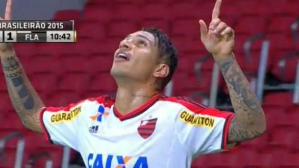 Paolo tuvo el debut soñado y se ganó a la hinchada del Flamengo
