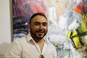 El pintor peruano Juan Carlos Zeballos vivió de cerca la tragedia del pueblo mexicano